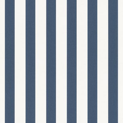 Bambino XVIII Narrow Stripe Wallpaper Red / White Rasch 246032