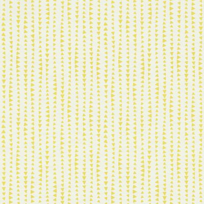 Bambino XVIII Triangles Wallpaper White / Yellow Rasch 249156