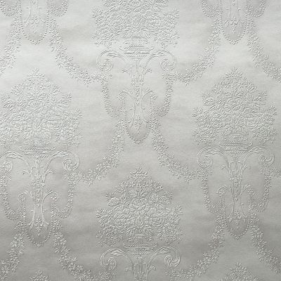 Trianon XI Damask Wallpaper White Rasch 514919