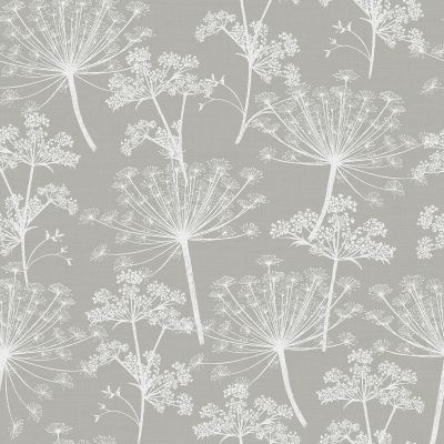 Cow Parsley Wallpaper Smoke Stil Haven COW-WP-SMO