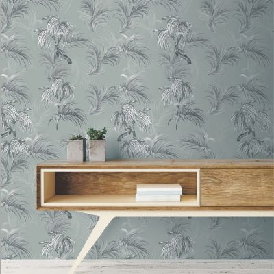 Ted's Enchanted Collection Horizon Wallpaper-Grey, Ted Baker 12497