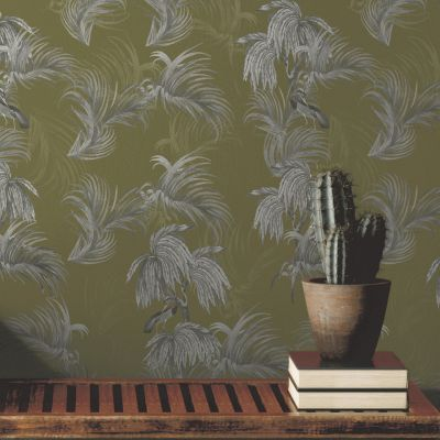 Ted's Enchanted Collection Horizon Wallpaper-Ochre, Ted Baker 12498