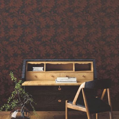 Ted's Enchanted Collection Houdini Wallpaper-Dark Red, Ted Baker 12482