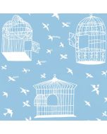 Our Adventure is About to Begin Wallpaper Sky Blue Mini Moderns RRMM01SB