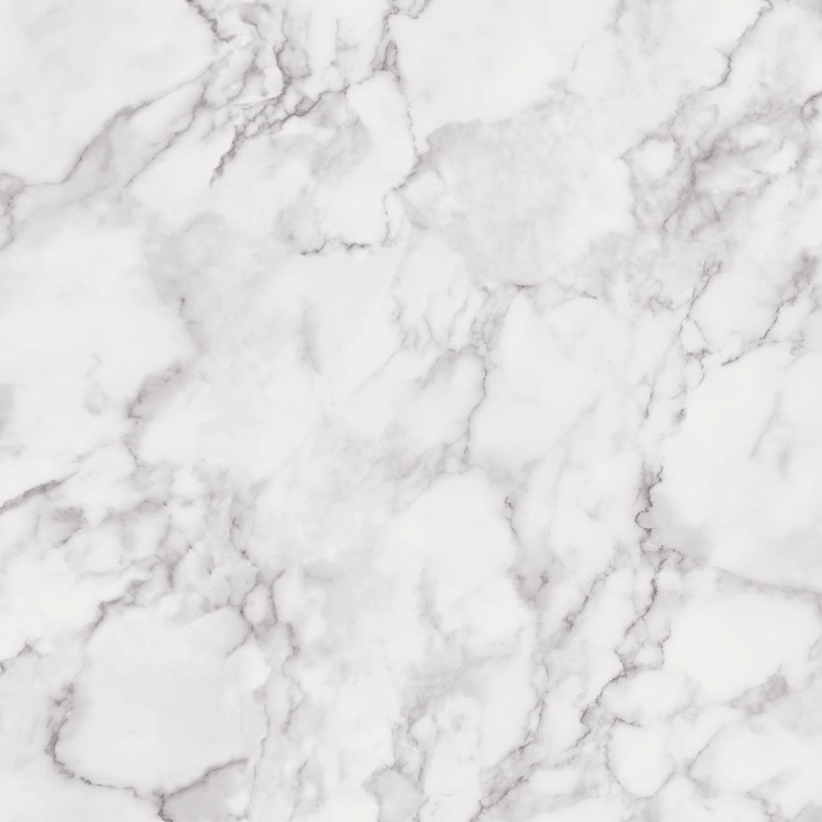 Marblesque Plain Marble Wallpaper White Fine Decor Fd42274