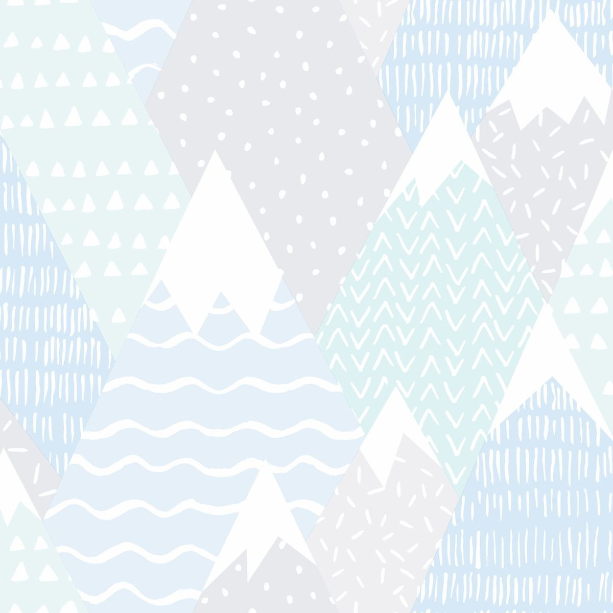scandi mountain winter christmas wallpaper