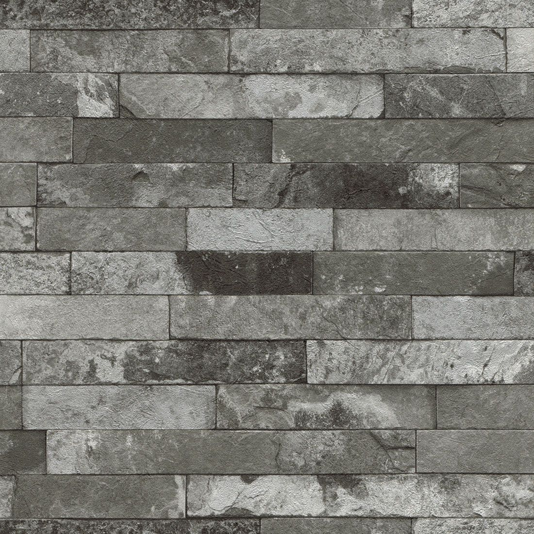 slate replica wallpaper bathroom stone