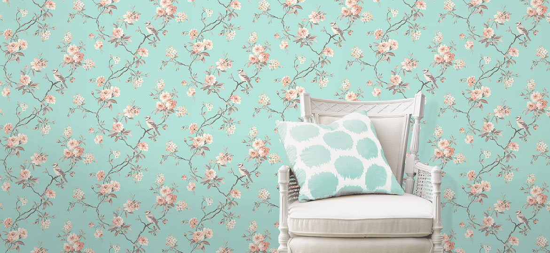 Wallpaper shop home world of wallpaper teal wallpaper voltagebd Gallery