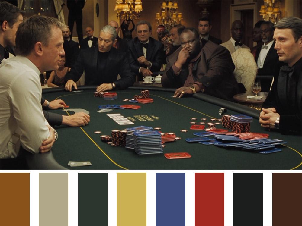 Casino Royale Colour Palette