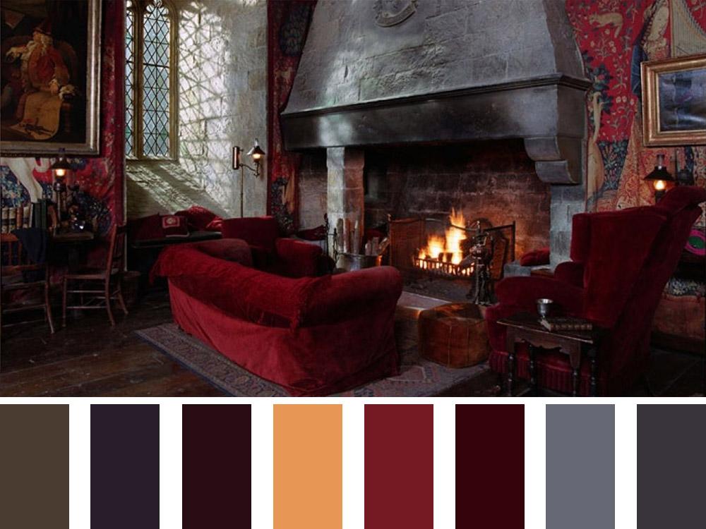 Harry Potter Colour Palette