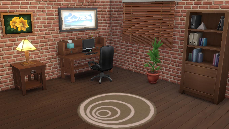 Sims 4 Wallpaper Brick Effect