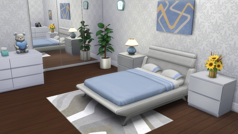 Sims 4 Wallpaper White Damask