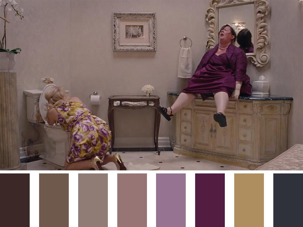 Bridesmaids Colour Palette