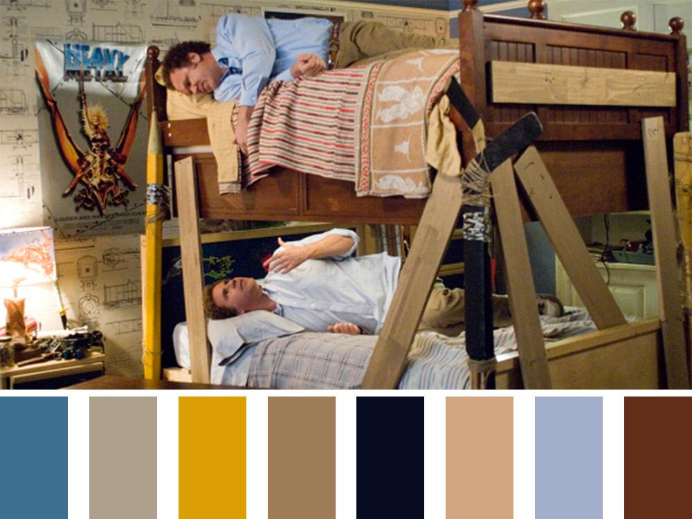 Stepbrothers Colour Palette