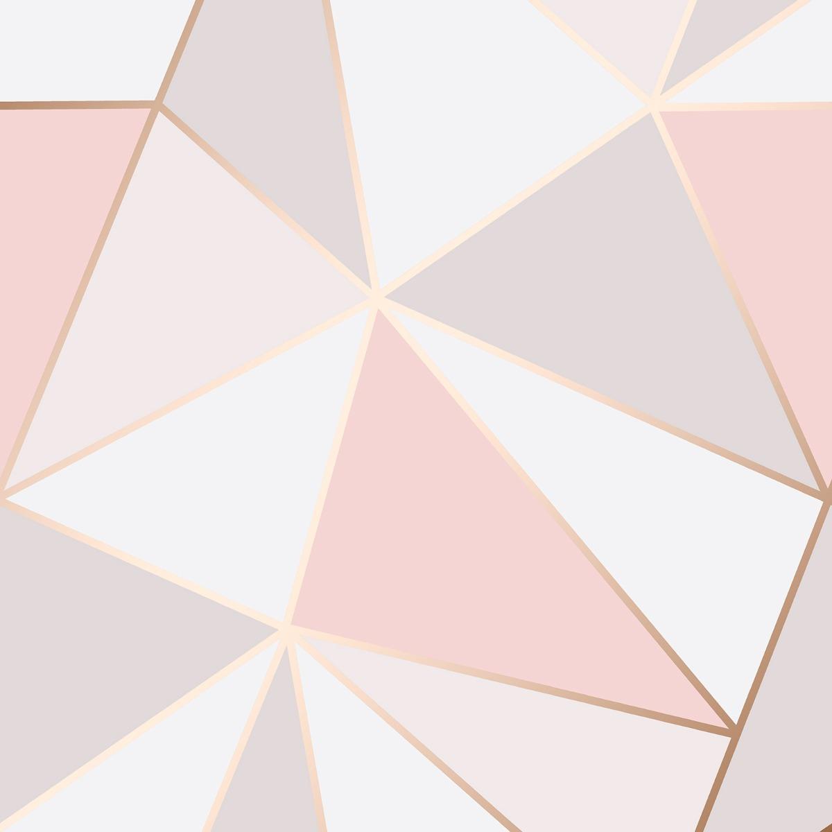 Rose Gold Wallpaper Trend