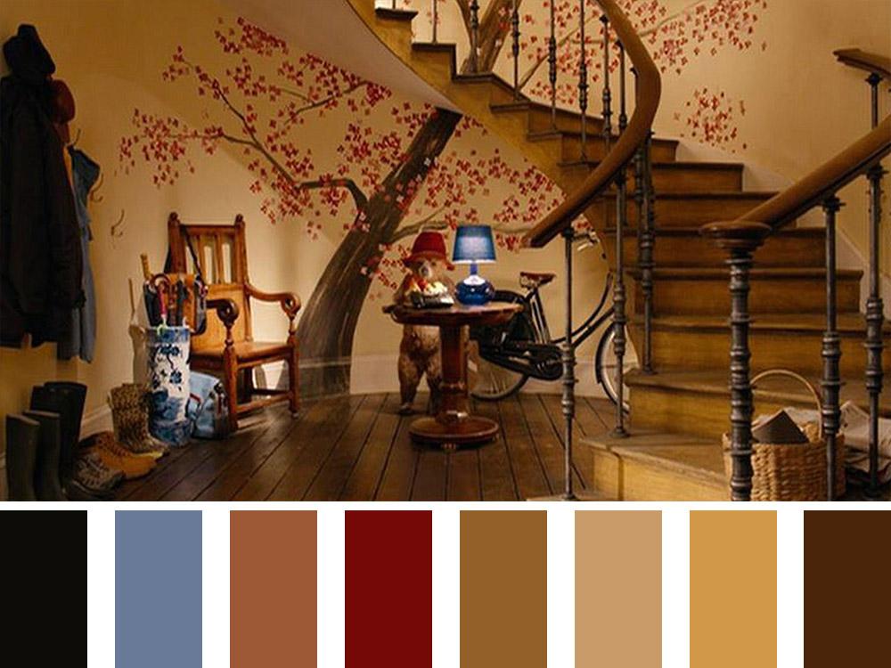 Paddington Colour Palette