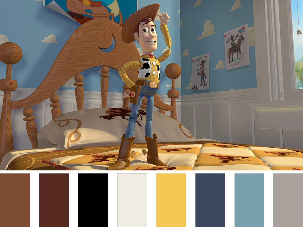 Toy Story Colour Palette