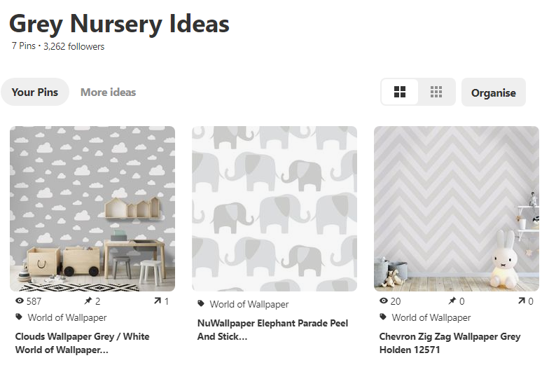 Grey Nursery Ideas