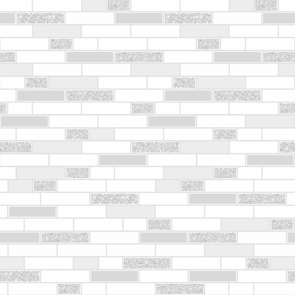 Tiling on a Roll Oblong Granite Tile Wallpaper - Grey Holden 89193