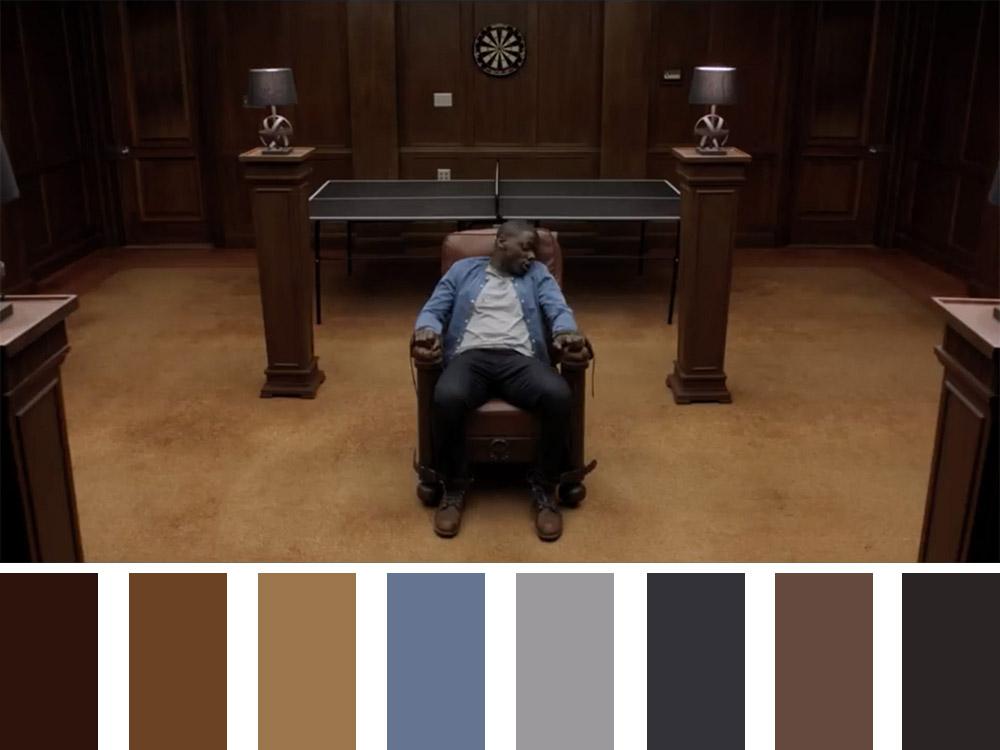 Get Out Colour Palette