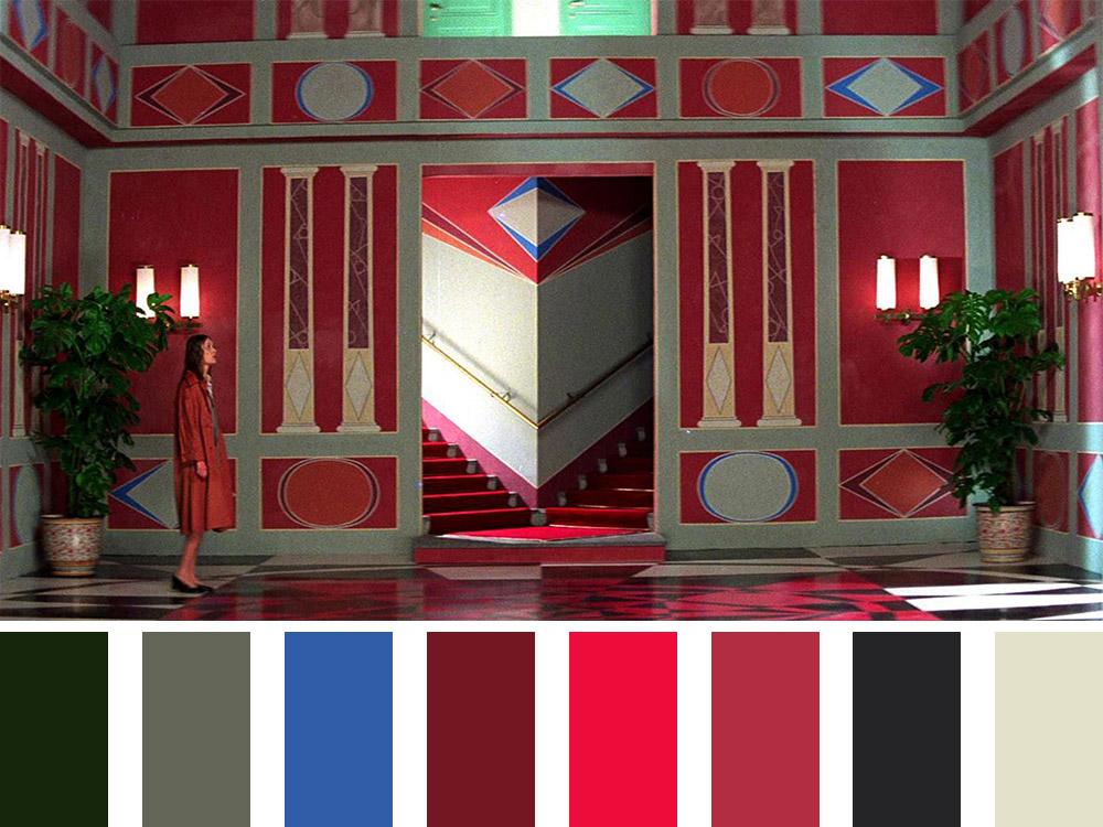 Suspiria Colour Palette