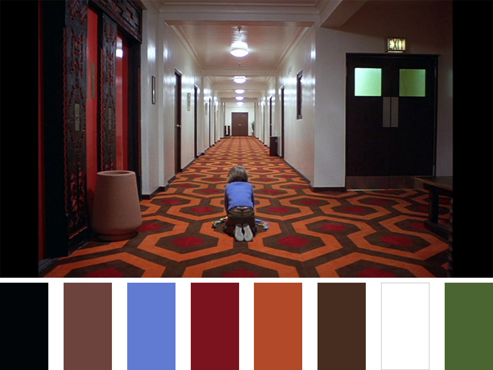 The Shining Colour Palette