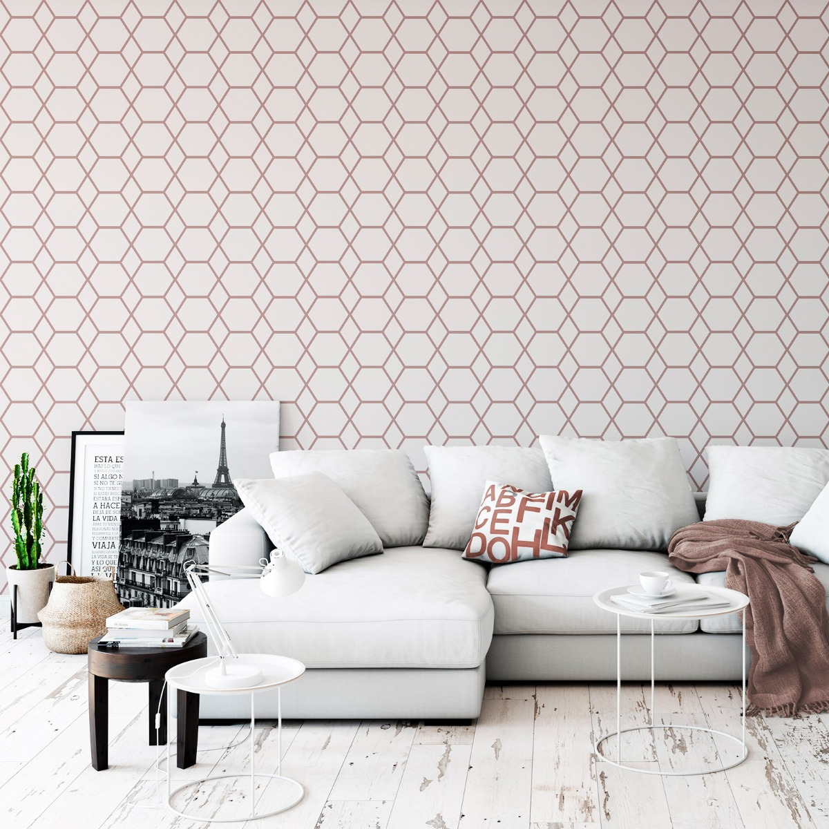Rose Gold Wallpaper Trend