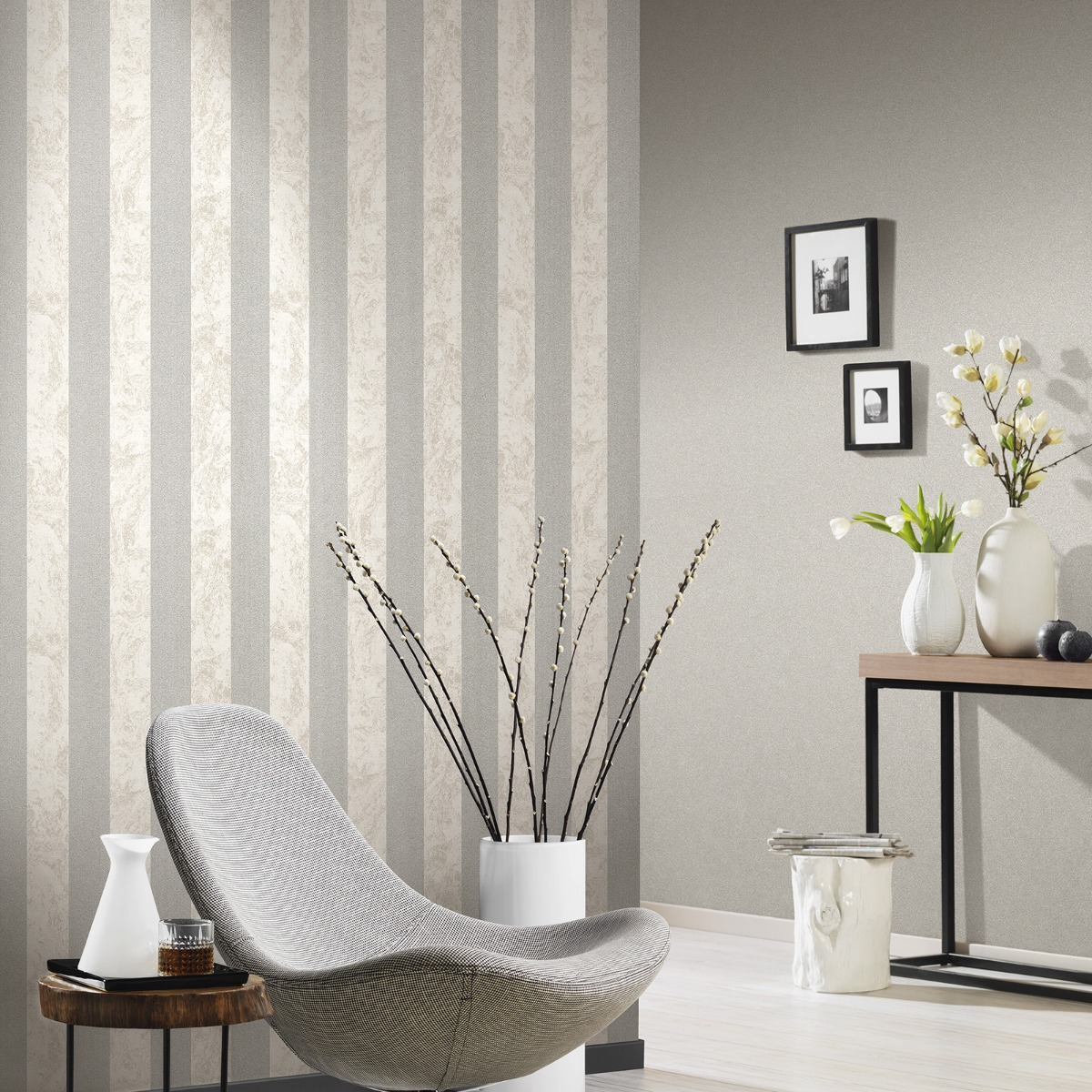 The Glittery World Of Silver Bedroom Ideas: The Latest Wallpaper Trend Is Marble Effect Wallpaper