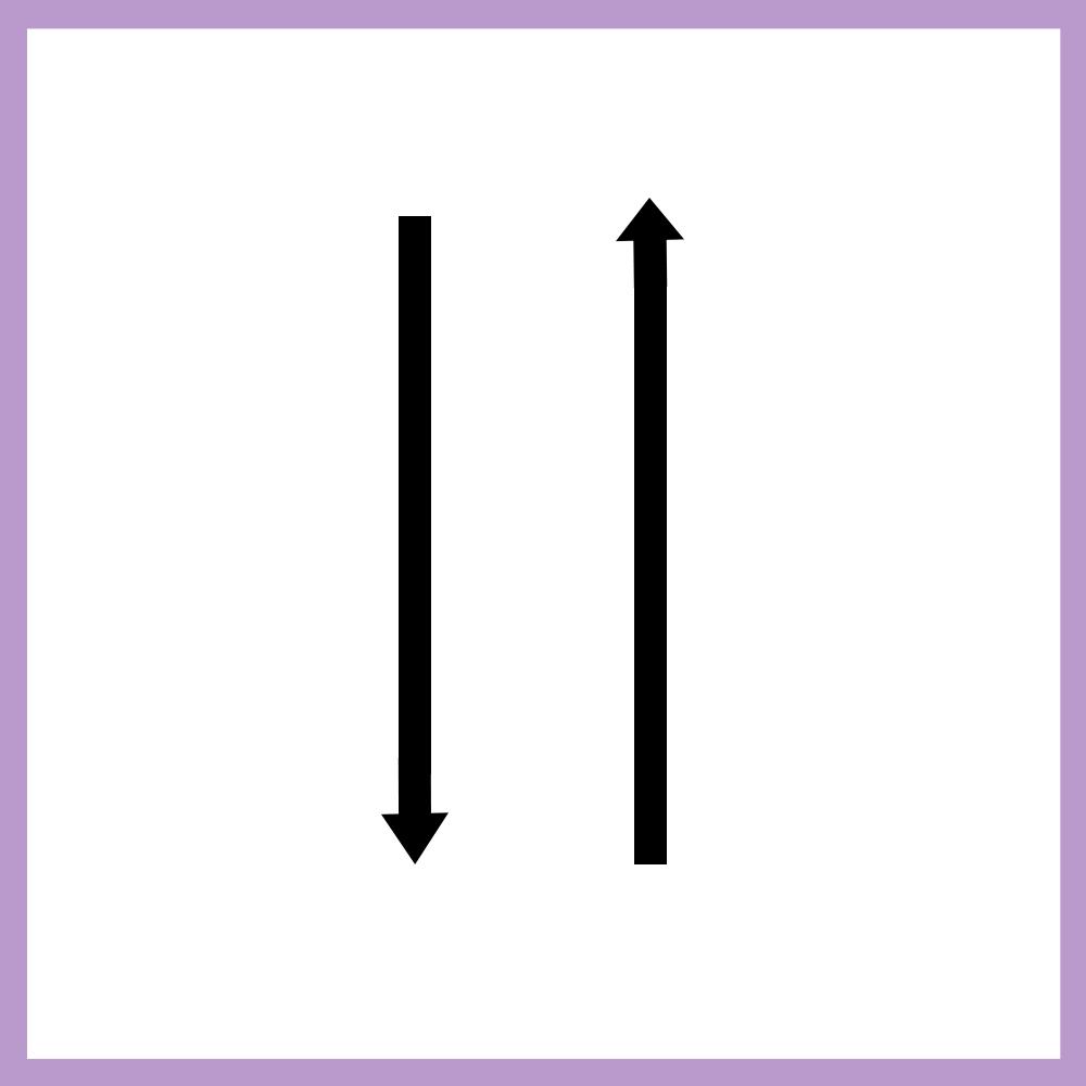 Reverse Alternate Length