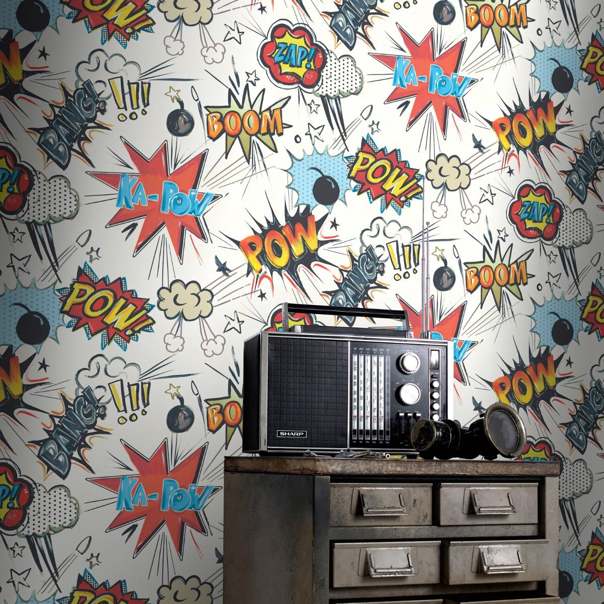 Kapow Wallpaper Rasch 272604