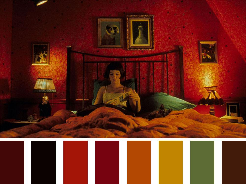 Amelie Colour Palette