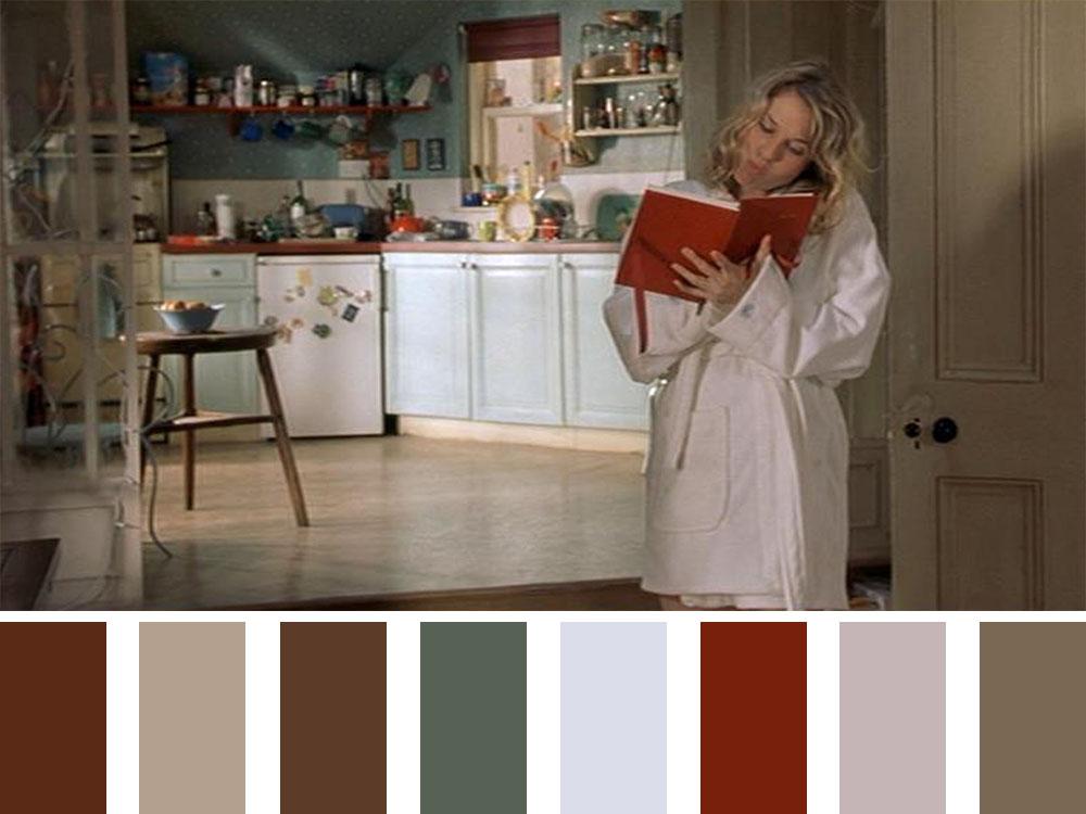 Bridget Jones's Diary Colour Palette