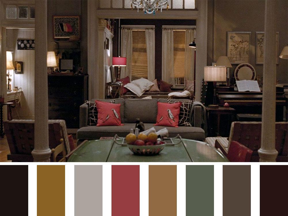 PS. I Love You Colour Palette