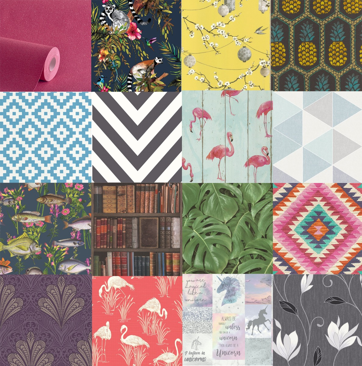 Wallpaper Samples for Upcycling