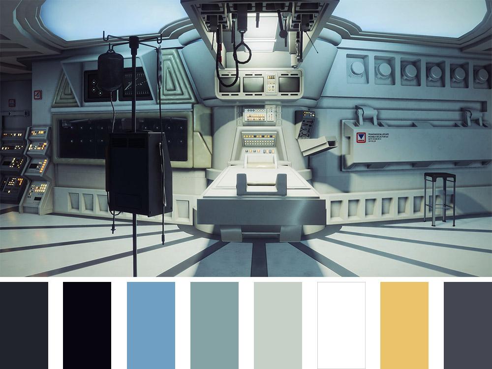 Alien Colour Palette