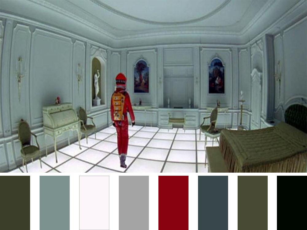 2001 A Space Odyssey Colour Palette